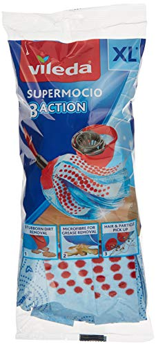 Vileda 3Action Velour Acc - Mop Accessory 3Action Velour