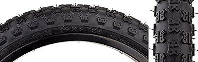 "SUNLITE MX3 BMX Tires, 20"" x 2.125"", Black/Black"