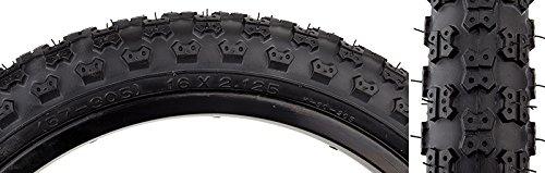 SUNLITE MX3 BMX Tires, 18' x 2.125', Black/Black