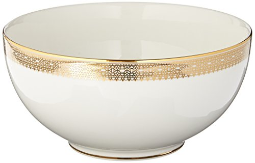 Wedgwood Vera Wang Vera Lace Gold Soup/Cereal Bowl