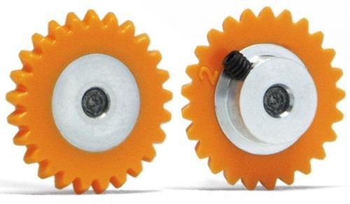 Slot.It GA1525-Pl Couronne 25 dents Ø15mm Plastique pour moteur transversal incliné