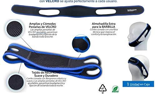 Oratek Banda Sujeción Mandibular Antironquidos, 120 g, Pack de 1
