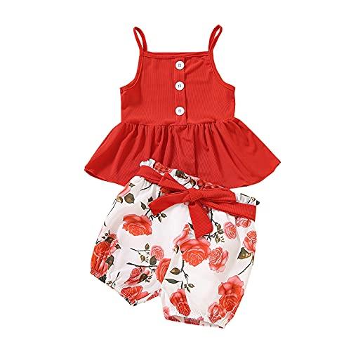 2 piezas de ropa de verano sin mangas + pantalones cortos de vendaje
