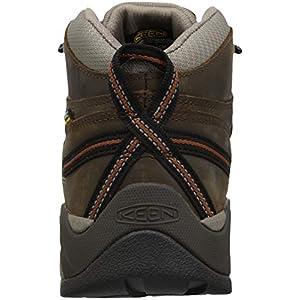 KEEN Utility Men's Detroit XT Mid Soft Toe Waterproof Work Boot,Black Olive/Leather Brown,11 Medium US