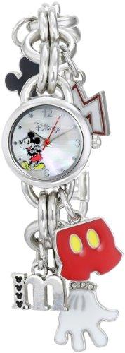 Disney Reloj de Mujer MK2066 Mickey Mouse con Esfera de nácar
