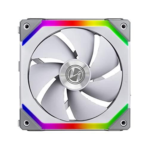 Cooler para Gabinete Lian Li Unifan SL120 RGB 120mm Hidráulico 1900RPM Branco - UF-SL120-1W