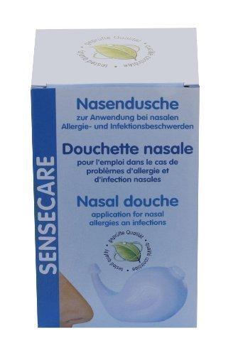 Sensecare Nasendusche Kombipack Nasendusche inkl. Nasenspülsalz by Sensecare