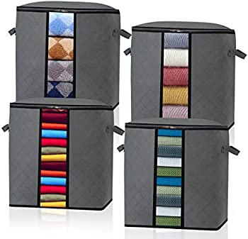4-Pack Baseshop Foldable Storage Organizer Containers