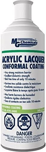 San Antonio Mall MG Weekly update Chemicals 419C-340G Conformal Lacquer Coating Aerosol