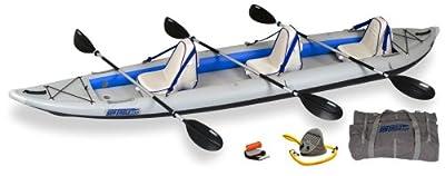 SE465FT_D Sea Eagle FastTrack 465ft Inflatable Kayak Deluxe Package