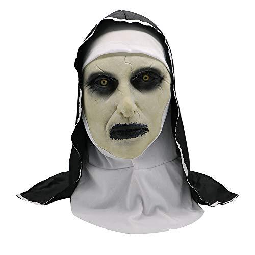 QWEEF Mscara de Halloween Halloween Horror Pelculas Monanzas Mscara Mascarilla FUMINA Cubiertas Cubiertas Cosplay Accesorio de Cosplay de Halloween (Color : Photo Color, Tamao : M)