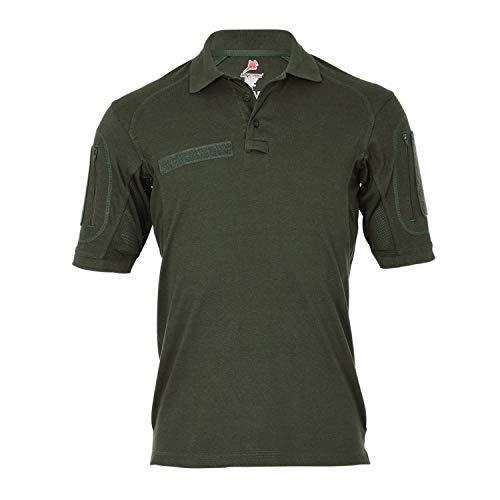 Tactical Poloshirt ALFA Oliv Einsatz Shirt Arbeitskleidung Hemd Sport #18791, Größe:L, Farbe:Oliv