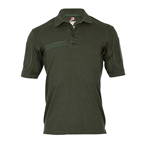 Tactical Poloshirt ALFA Oliv Einsatz Shirt Arbeitskleidung Hemd Sport #18791, Größe:S, Farbe:Oliv