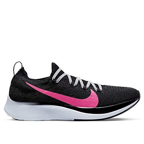 Nike Zoom Fly Flyknit Women's Running Shoe Black/Hyper Pink-Blue TINTN 6.5