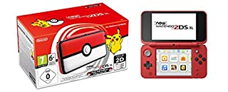 New Nintendo 2DS XL Poké Ball Edition (B075LKS83Q) | Amazon price tracker / tracking, Amazon price history charts, Amazon price watches, Amazon price drop alerts