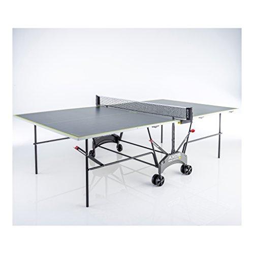 Kettler, Tavolo da Ping Pong, AXOS Indoor 1, Colore: Grigio e Giallo, codice: 07046-900