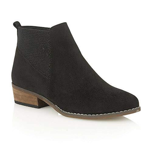 British Footwear Chelsea Dealer Botas de Tobillo de tacón bajo con Espuma...