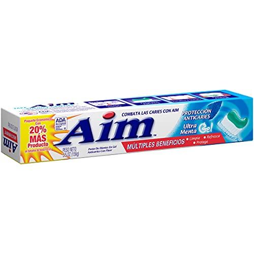 Aim Cavity Protection Anticavity Fluoride Toothpaste, Ultra...
