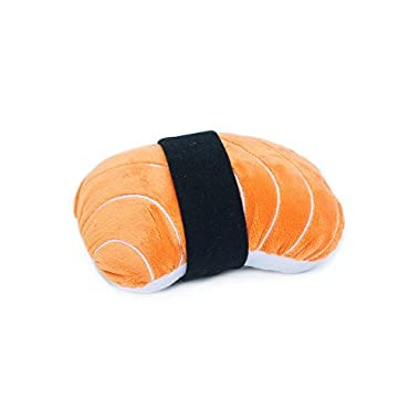 ZippyPaws NomNomz Plush Squeaker Dog Toy For The Foodie Pup - Sushi