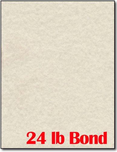 Natural Parchment Paper - 50 Sheets - Desktop Publishing Supplies, Inc. Brand