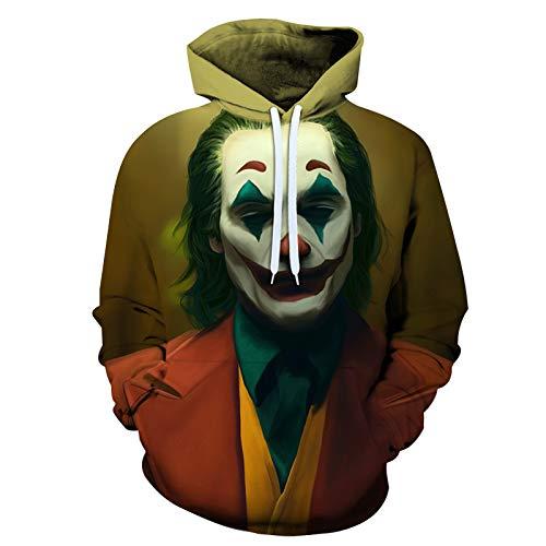 Unisexe Overs Stephen King De Il 3D Prints Capuche à Manches Longues Sweat-Shirts en Vrac Casual Chandails à Capuchon (XS-6XL) G-M