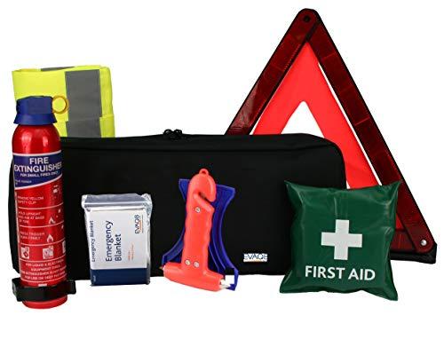 EVAQ8 Car Safety & Emergency Kit For Breakdowns