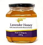 450 g Miel de flor de lavanda - Certificado sin antibióticos, sin azúcar, sin calentar, sin...