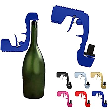 Bubbly Sparkling Champagne Gu-n,Bubbly Sparkling Wine Stopper,Champagne Stopper,Bottled Beer Jet for Party,Club,Bar,Pub