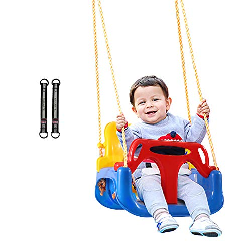 REDCAMP 3 in 1 Toddler Swing for Outside Tree,...