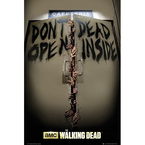Grupo Erik FP3311 Poster The Walking Dead Keep Out, carta, Multicolore, 91 x 61,5 x 0,1 cm
