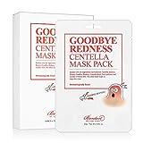BENTON Goodbye redness centella mask pack Pack of 10