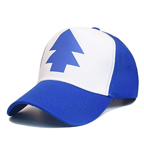 Fnito Baseball Cap 1 STÜCK Baseball-Mütze Gravity Falls Cap Einstellbare Trucker Caps Gebogene Bill Dipper Eltern-Kind-Baseball-Mütze