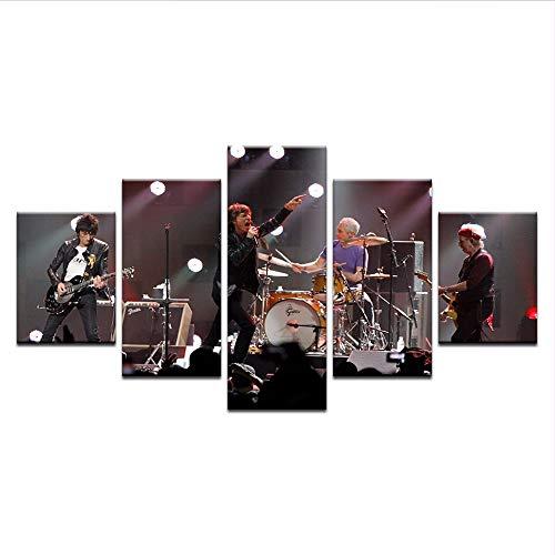 Wuwenw Cartel De Concierto De Rock Moderno Decoración Para El Hogar C