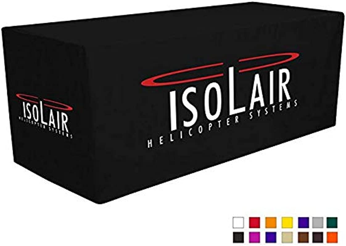 UNIQ SIGNS Personalized 6 Feet Fitted Tablecloth For Trade Show And Exhibition Event