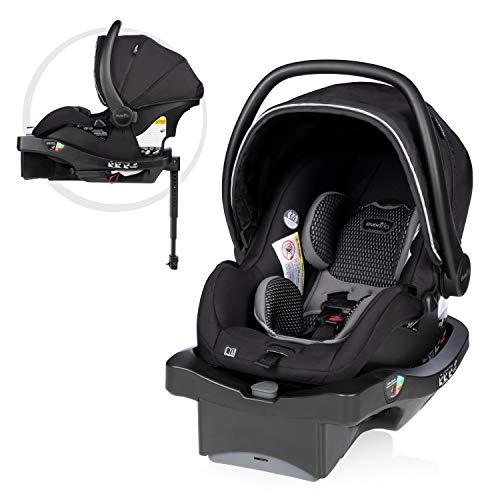LiteMax DLX Infant Car Seat with FreeFlow Fabric, SafeZone and Load...