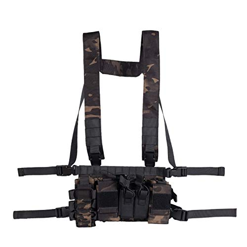 Armiya Chest Rigs Tactical Airsoft, Molle Multifunction...