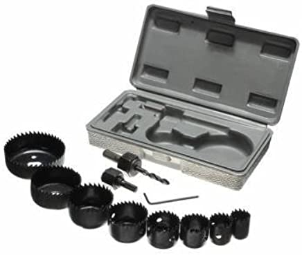 Grizzly 11 In 1 Metal Alloys Wood Hole Saw Cutting Set (19-64mm)