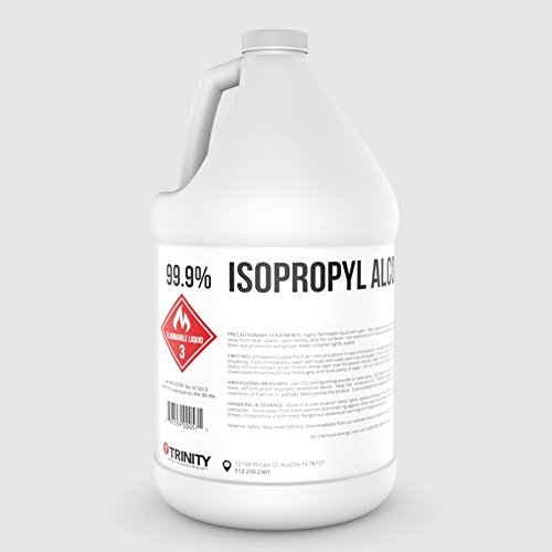 Isopropyl Alcohol 99.9% (IPA) - Laboratory-Grade USP Superior Solvent + Anhydrous Liquid Cleaner | Industrial Cleaner | All Purpose - 1 Gallon (3785 mL)