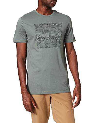 s.Oliver Herren 130.10.108.12.130.2102930 T-Shirt, 6710, XL