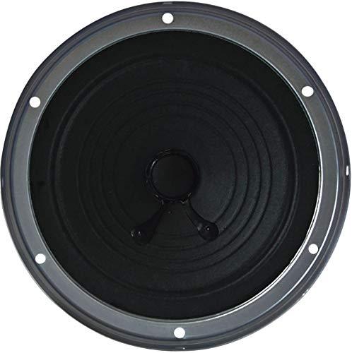 Jensen 5203 Heavy Duty 5.25  Dual Cone Entry Level Speaker, Black, 24 Watts Max Power Handling, 90 dB Sensitivity @ 1W 1 Meter, 10kHz Frequency Response, 4 Ohms Nominal Impedance, 2.9 oz. Magnet