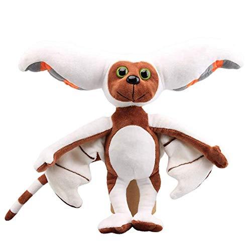 Herbests Momo Plüschtier Plüsch Bat Appa Puppe Spielzeug Plüsch Fledermaus Spielzeug Plüschfigur Weiche Kuscheltiere Stofftiere Fledermauspuppe Kinderspielzeug für Kindergeburtstag Weihnachten, 28cm