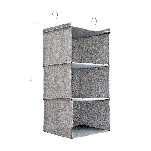 chunnron Bad Organizer aufbewahrung kinderzimmer Handbag Storage Wardrobe Organiser Hanging Storage Bag Wardrobe Storage Wall Storage Over Door Shoe Storage Gray,3