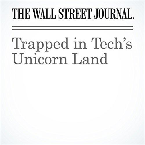 Trapped in Tech's Unicorn Land copertina