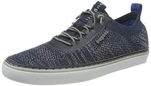 bugatti Herren 321A3F016900 Sneaker, Dunkelblau, 43 EU