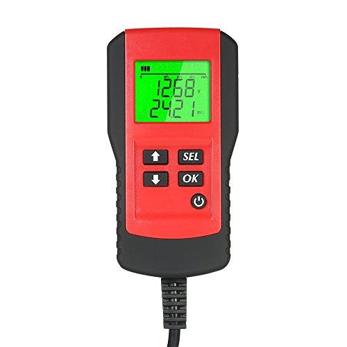 Docooler Autobatterieanalysator LCD Digitaler Autobatterieanalysator Automobilbatterie Diagnosetester Werkzeug Digitale Tester