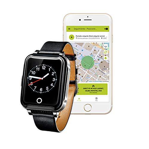 Nock Senior 3 - Reloj teléfono localizador GPS para Alzheimer o Personas...