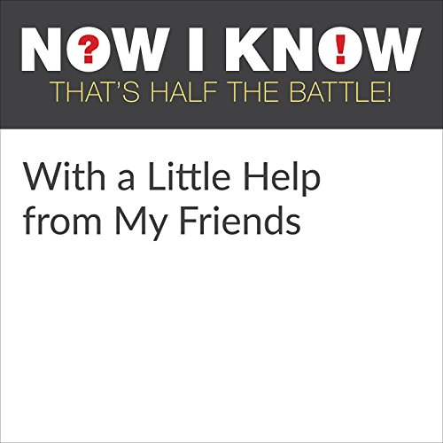 With a Little Help from My Friends audiobook cover art