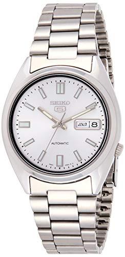 Seiko Herren-Armbanduhr Seiko 5 Analog Automatik Edelstahl SNXS73