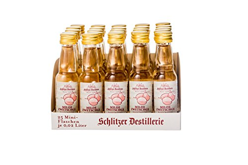 Schlitzer Milde Zwetschge Minis 35% (25 x 0,02l)