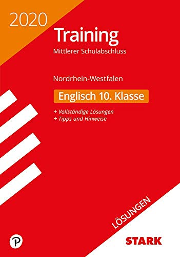STARK Lösungen zu Training Mittlerer Schulabschluss 2020 - Englisch - NRW
